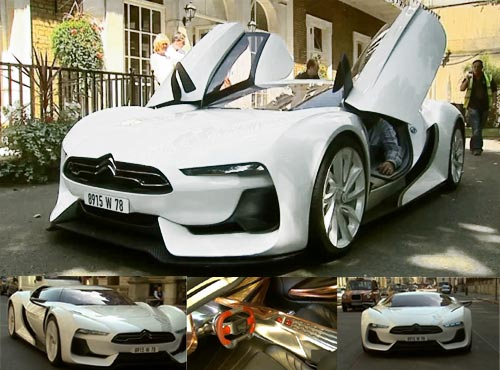 Citroen GT on the Streets of London
