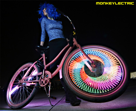 LED Bike Wheel Video Display System