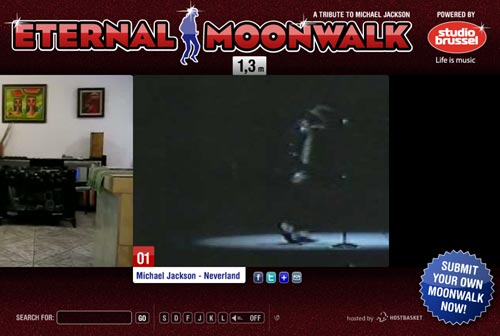 moonwalk michael jackson. Tribute To Michael Jackson