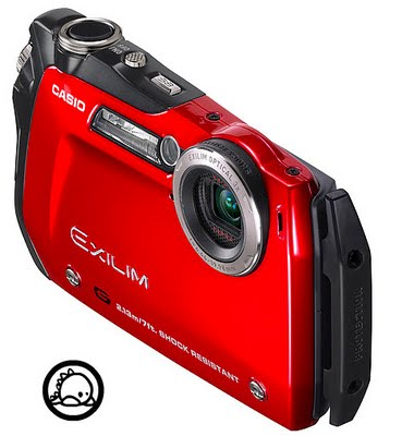 Casio Exilim EX-G2 Shock-resistant Camera