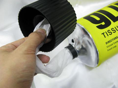 Giant Glue Tube Tissue Dispenser