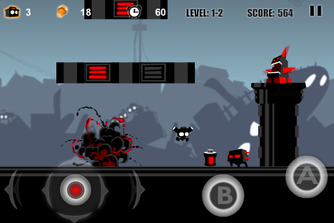 iPhone Game: Robo Rush (Free at limited time)